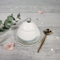 Bazar - Marble - Zaharnita cu capac turcoaz-negru