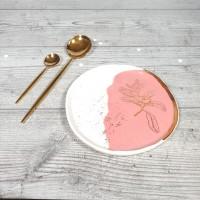 Bazar -Floare de Cires- Alb/Roz18cm