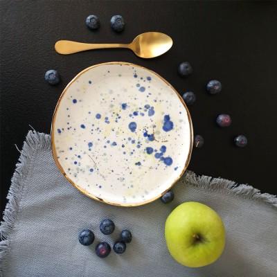 Blueberry - Farfurie pentru aperitiv diametru 18cm
