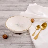 Frunze de Tei - Bol mare din portelan, pentru supa sau salate 21cm