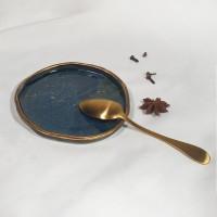 Night - Farfurie mica pentru ceasca sau cana 12cm