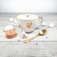 Heart- Cana cu 3 inimi de aur 380ml